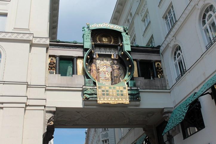 travel-three days in vienna-wenen-wien-ankeruhr-anker-clock