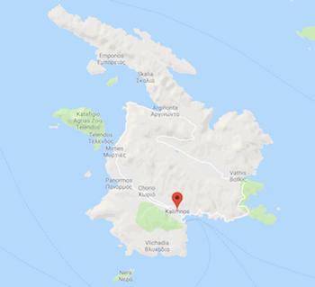Kalimnos Haritası