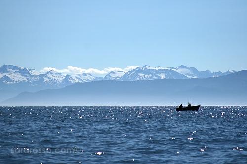 Alaskan fishing boat