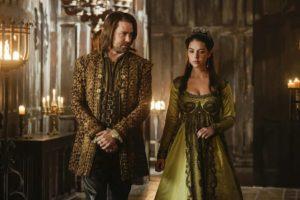 Mary Stuart (regina di Scozia) e Davide Rizzio (musico e segretario particolare)