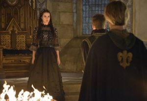Toby Regbo: buona fortuna... Mary esercita il potere durante la peste