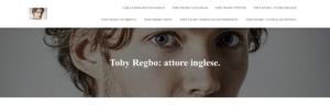 Toby Regbo: DIAH3 from Italy. WEBBlog Personale su TOBY REGBO
