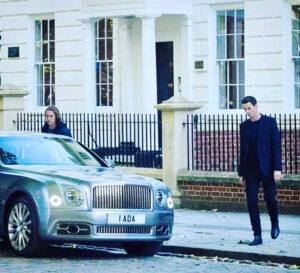 Toby Regbo: 2020 vs 2020. Toby Regbo e Matthew Goode (Mio Instagram - 28 settembre 2020)