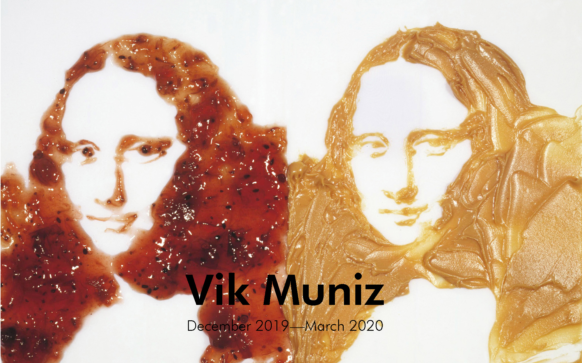 Vik Muniz, Double Mona Lisa (Peanut Butter and Jelly)(1999)