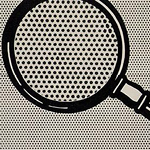 Roy Lichtenstein's Magnifying Glass (1963)