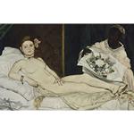 Édouard Manet's, Olympia (1863)