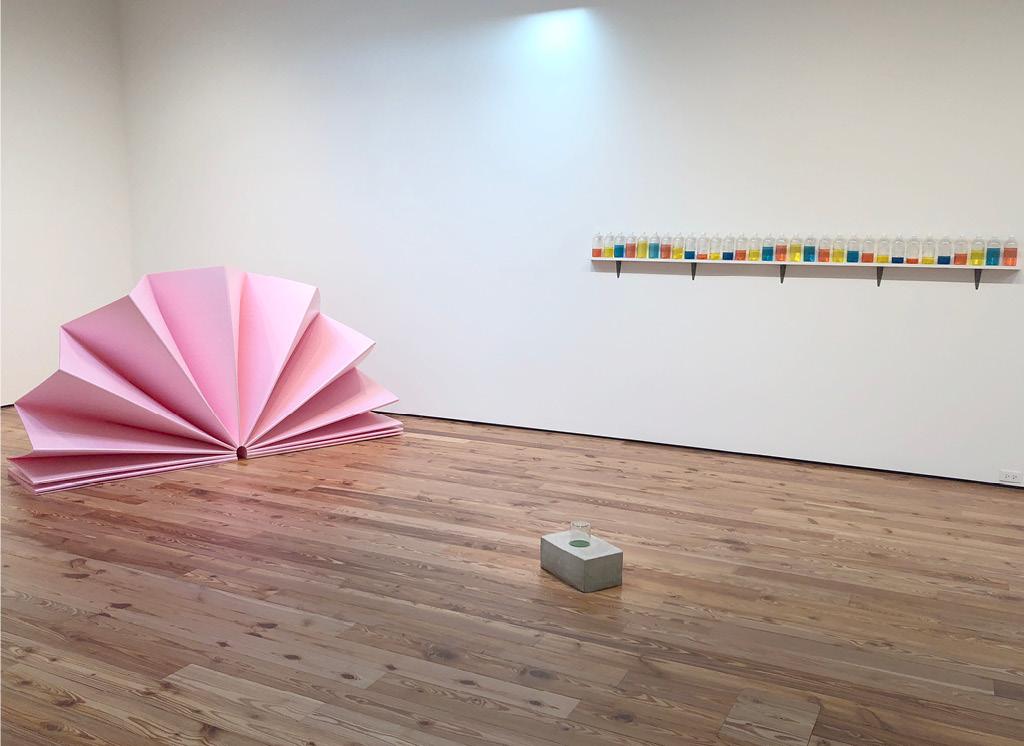Tony Feher's three pieces at Sarasota Art Museum