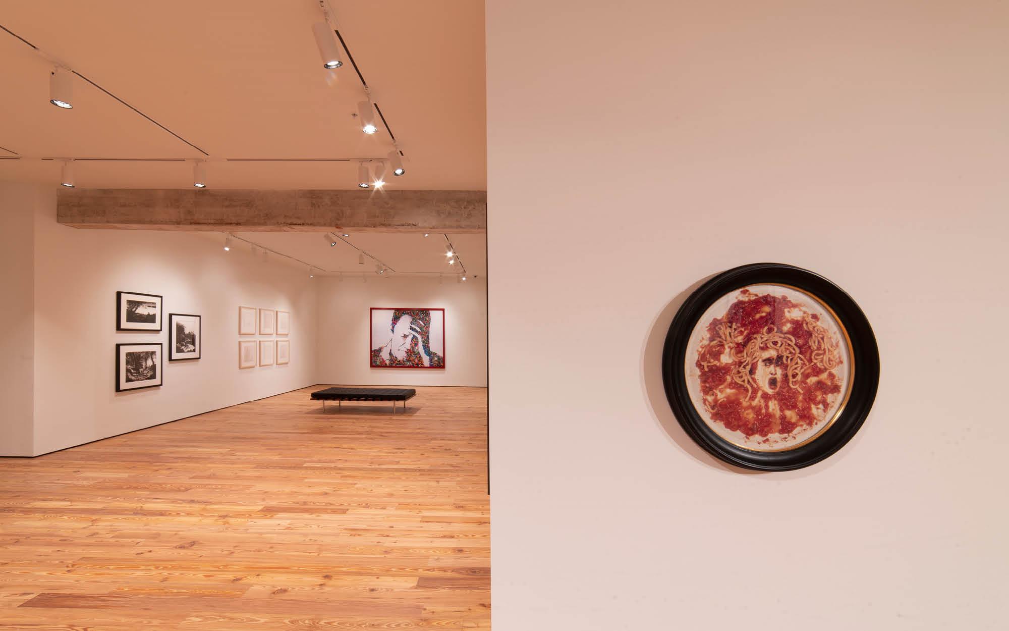 Vik Muniz exhibition, B. Claire Rusen Gallery