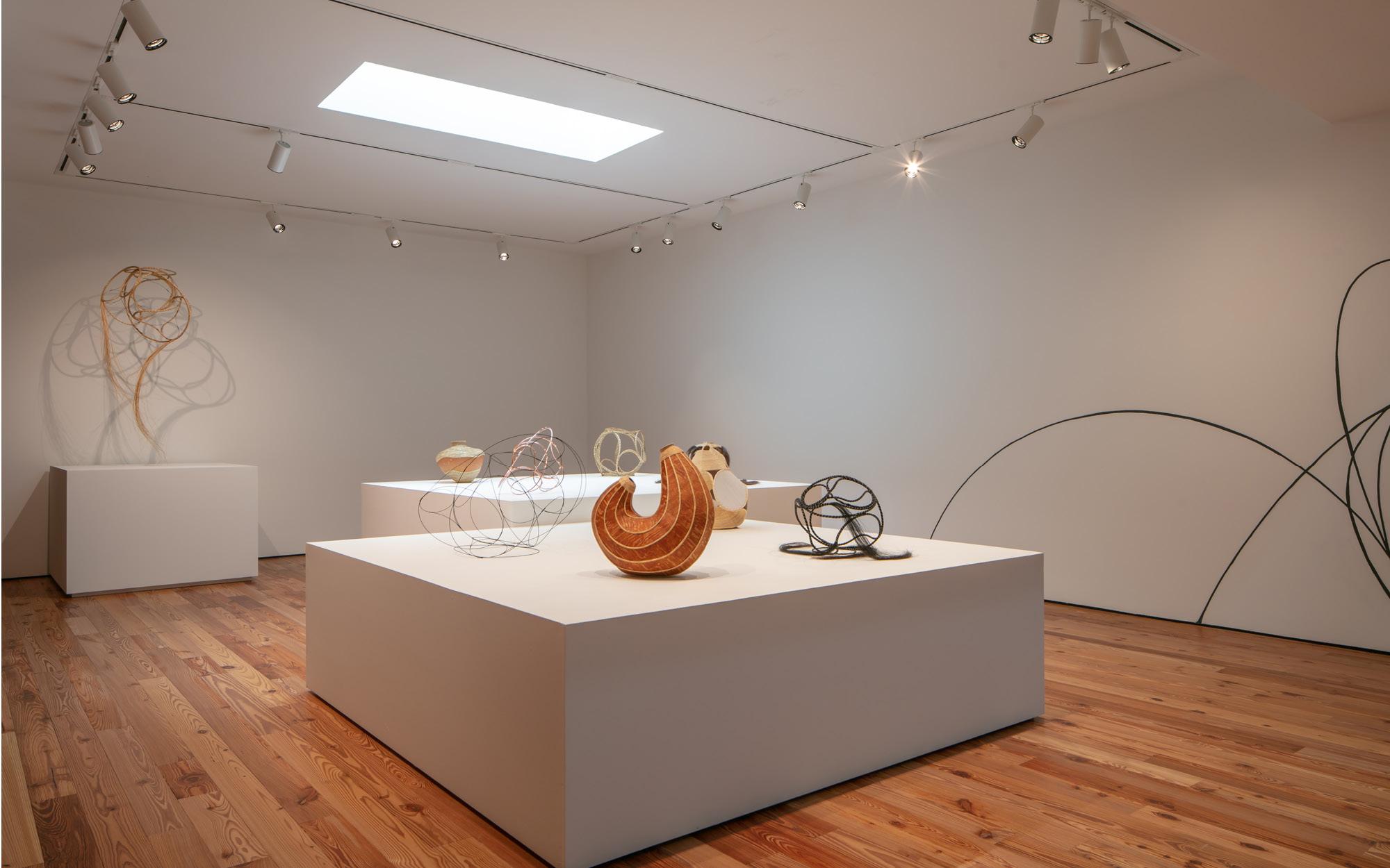 "Installation view of ""Unraveling: Aranda\Lasch + Terrol Dew Johnson"". On view at Sarasota Art Museum, June 12 - September 26, 2021, Photo: Ryan Gamma"