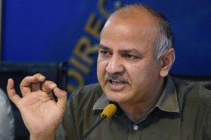 Manish Sisodia to LG Baijal