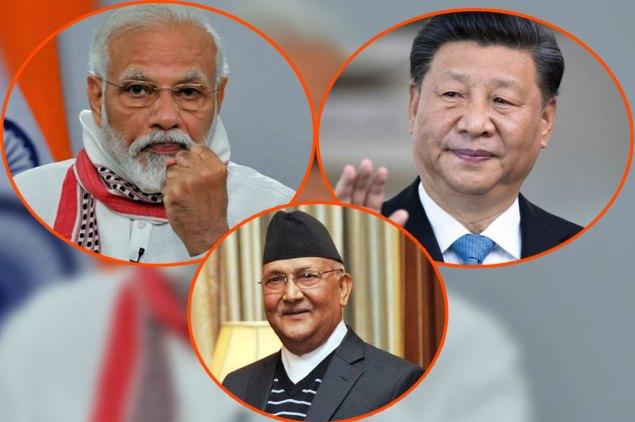 India-china-nepal