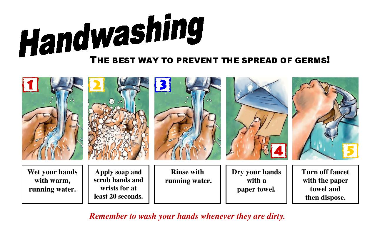 Handwashing Saratoga County New York
