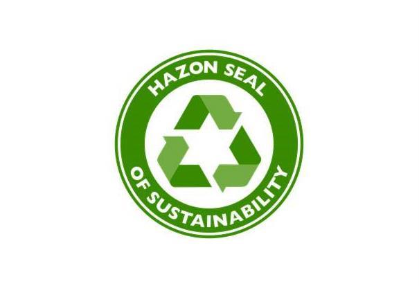 Hazon Seal of Sustainability – Temple Sinai