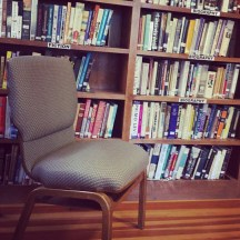 Comfy library chair