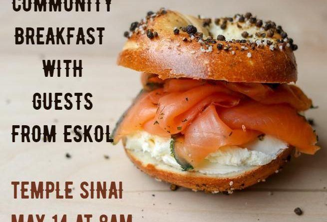 Community Breakfast with Eskol Visitors
