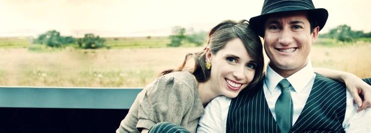 cute vintage photoshoot - couple