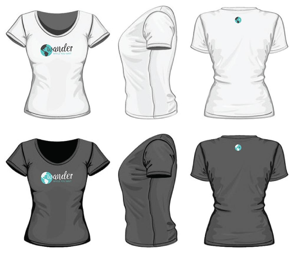 wander t-shirt designs