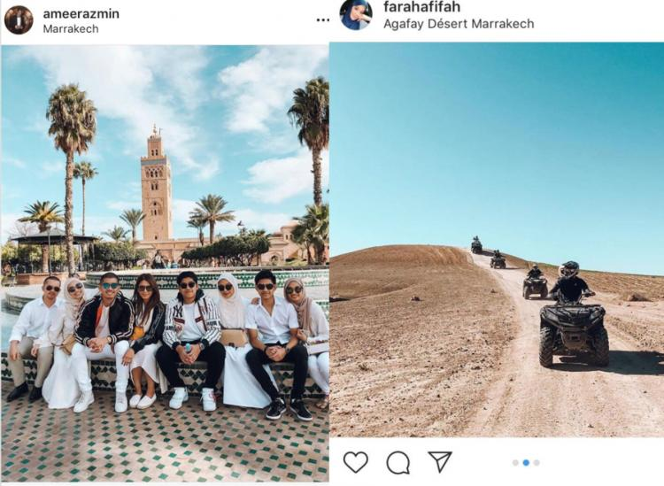 Controversial family holiday in Morocco