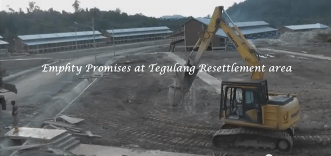 building site - the Penan's 'bright new future'