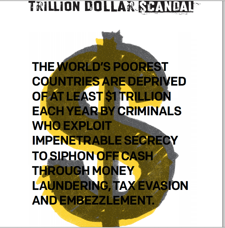 "New Report ""Trillion Dollar Scandal"" - read it now!"