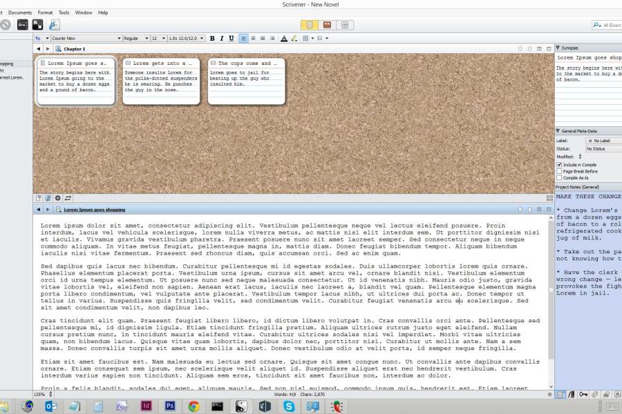 How to use Scrivener