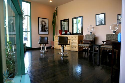 Hair Treatment Area