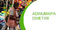 ''Adwumapa Dwetiri'' Credit and Savings – the Bank's Flagship Product.  – Source of Funding: – South Akim Rural Bank Ltd.