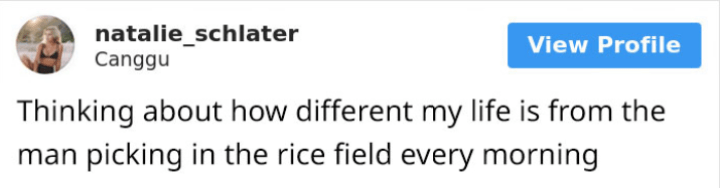 Instagram model making fun of rice workers