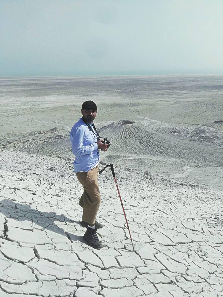 Chandragup Mud Volcanoes