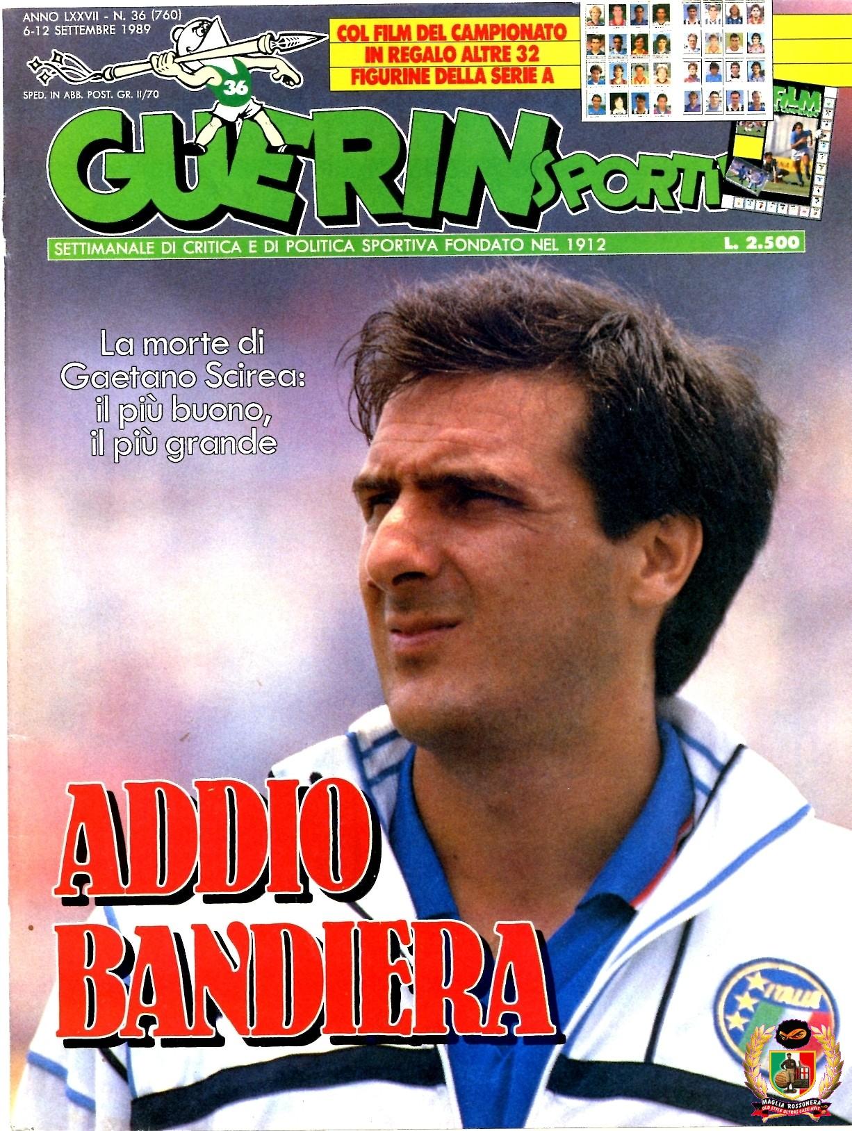 3 settembre 1989, muore Gaetano Scirea (di Francesco Giorgioni)