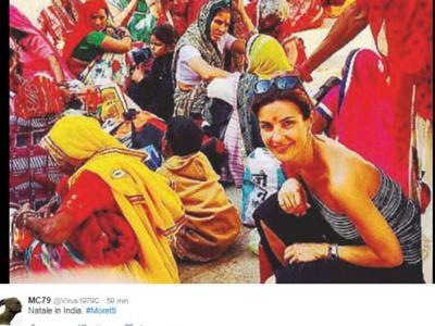 Alessandra Moretti, l'indiana. (di Giampaolo Cassitta)