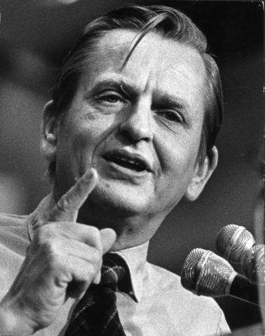 1 marzo 1986, muore assassinato Olof Palme (di Francesco Giorgioni)