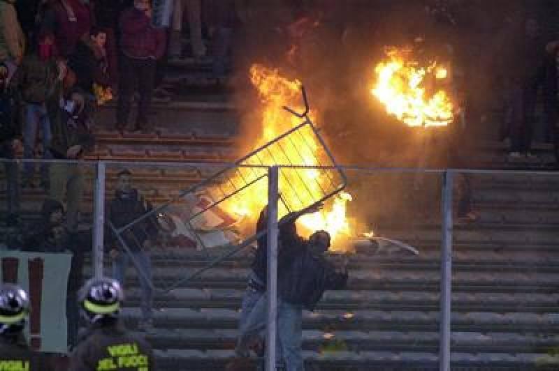 25 marzo 2017, gli ultras del Cagliari devastano Sassari (di Francesco Giorgioni)