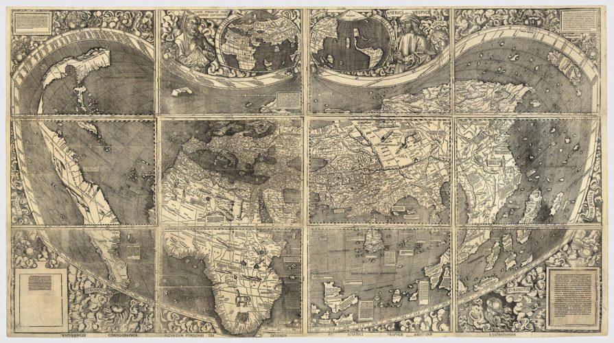 25 aprile 1507: America, la nascita del mondo. (di Luca Ronchi)