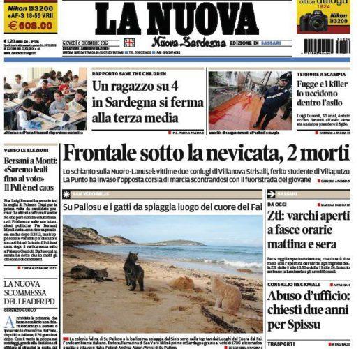 PdG: Lo screenshot del giornale  (di Alba Rosa Galleri)