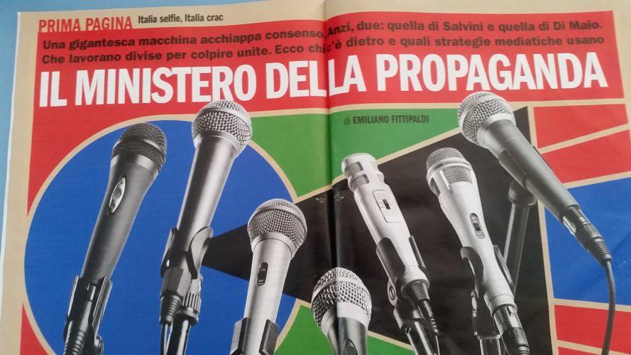 Quell'inferno che chiamano informazione (di Cosimo Filigheddu)