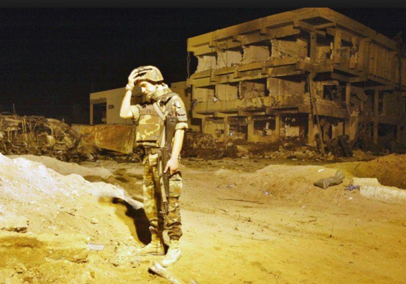 12 novembre 2003: quel che resta di  Nāṣiriya.  Racconto di una strage. (di Giampaolo Cassitta)