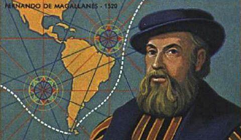 10 agosto 1519, Magellano parte per il giro del mondo (di Francesco Giorgioni)