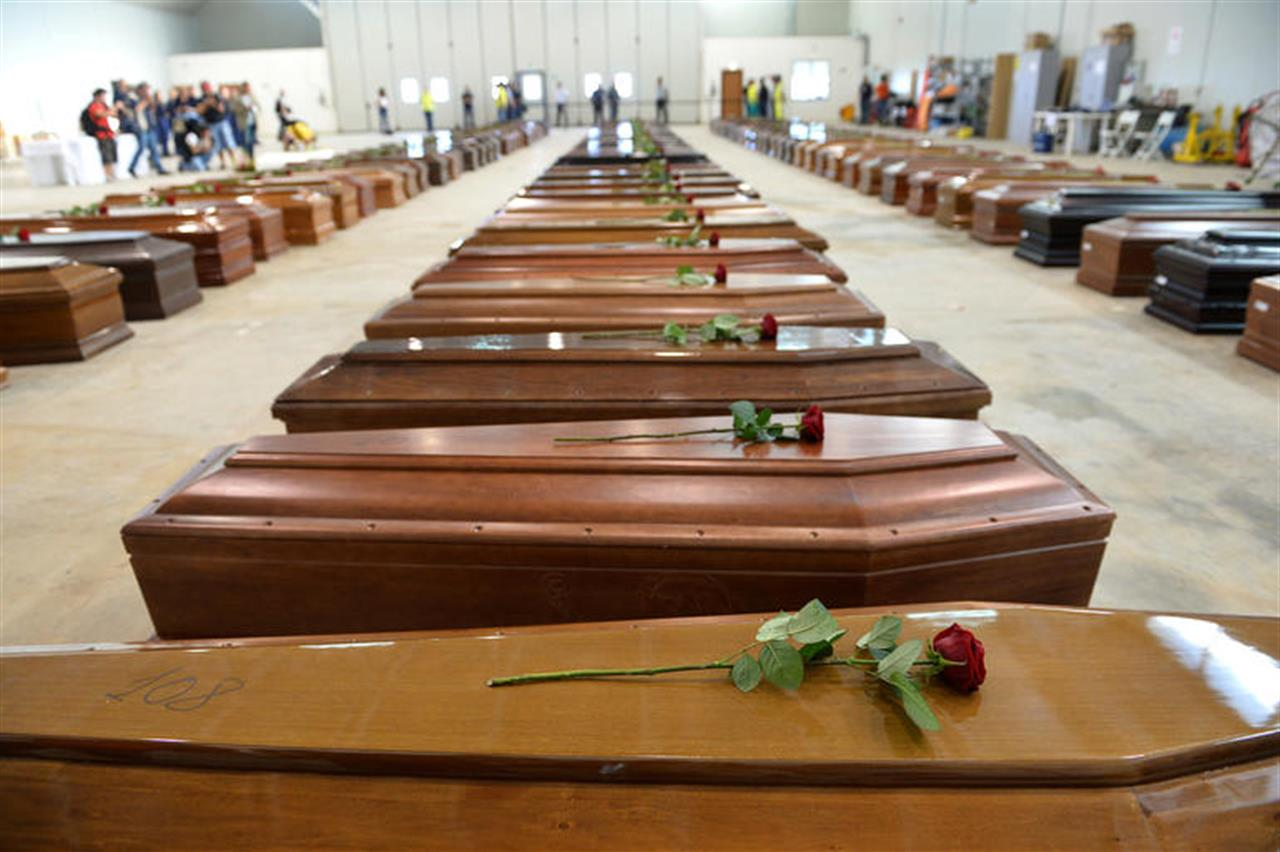 3 ottobre 2013: la strage di Lampedusa (di Giampaolo Cassitta)