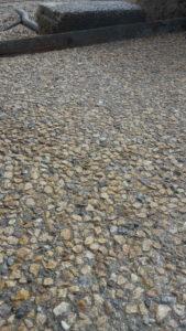 Pavimento esterno in ghiaia lavata