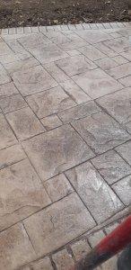 cemento stampato ardesia a san vero milis