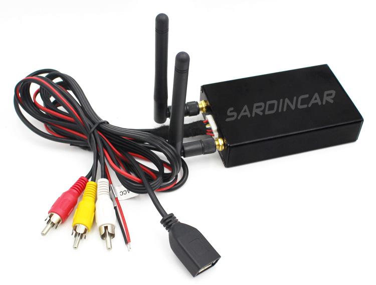 2 4G 5 8G Dual Antenna Universal Car WIFI MirrorLink Box, iPhone