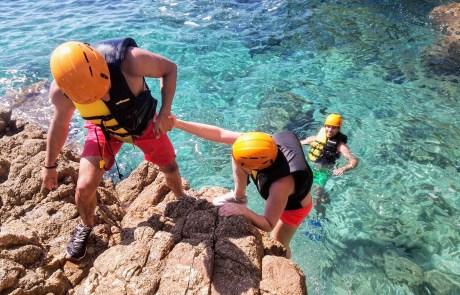 coasteering sardinia, your experience in sardinia, best experience in sardinia, things to do sardinia,
