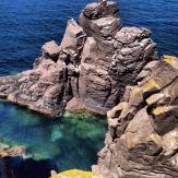 Trachytfeslen an der Südwestküste Sant'Antioco