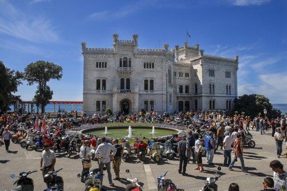 Das Castello Miramare in Triest