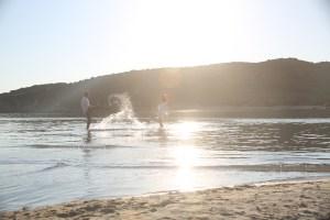 After-Wedding-Fotoshooting an der Punta Molentis bei Villasimius