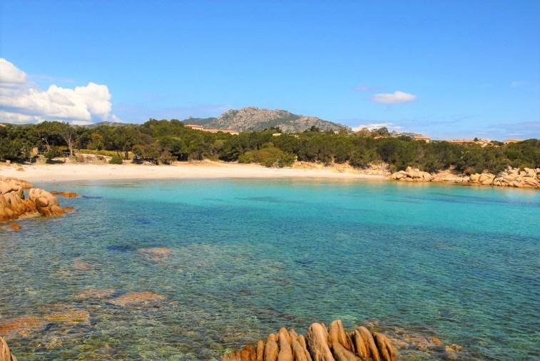Der Strand von Cappriccioli