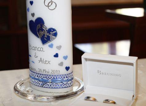Individuelle Hochzeitsbräuche für die Trauung