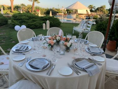 Hochzeitslocation im Freien