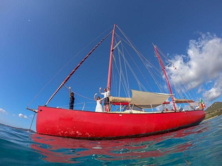 Hochzeit auf dem Boot